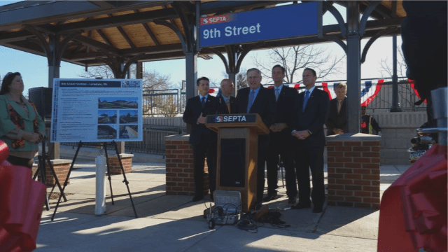 Ninth Street Station Ribbon Cutting