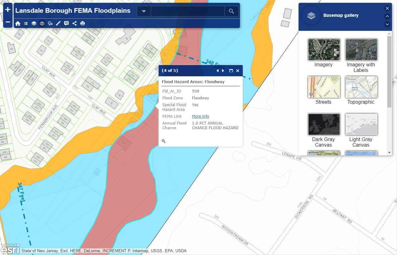 Federal Emergency Management Agency Floodplains