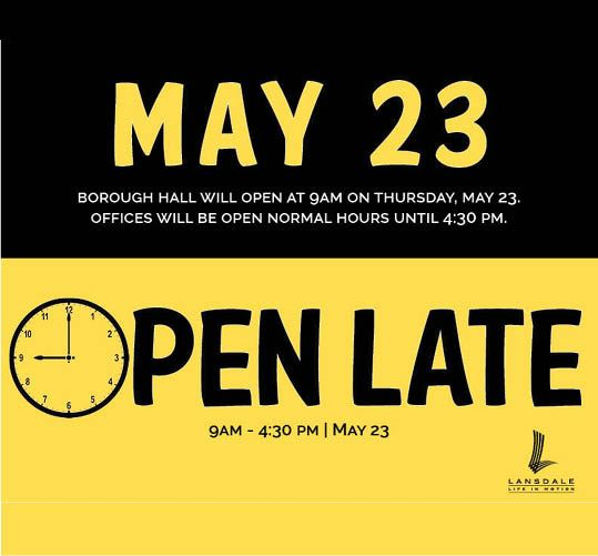 Late Open 5.23.19