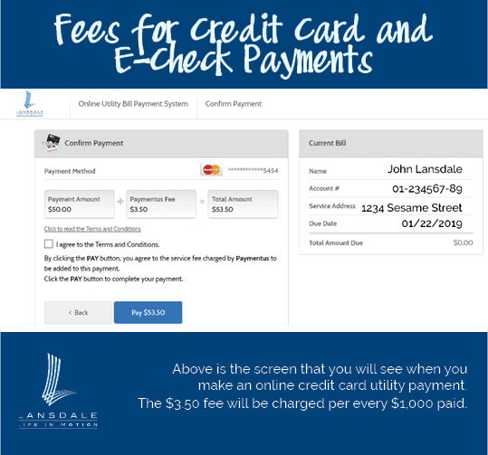 Credit Card Fee