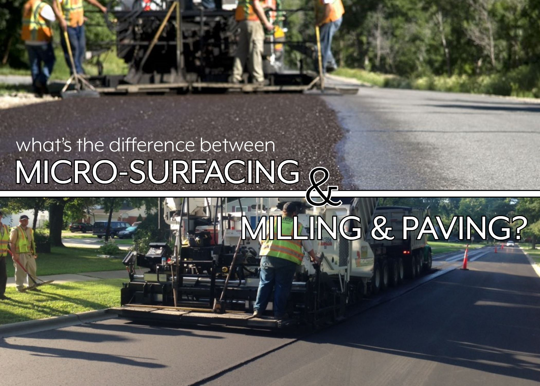 Milling and Paving
